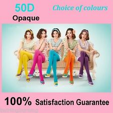 Opaque Colourful Tights Pantyhose Stockings Color Hosiery FREE post EP02