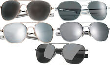 Aviator Air Force Style US Military Pilot 52mm Sunglasses with Case
