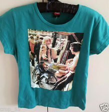 MARVIN GAYE TSHIRT - KWAMEE BY FRANCIS, 100% COTTON, GREEN, MACHINE WASHABLE