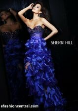 Discount Sherri Hill 2921 Prom Dresses / Pageant Dress Purple in Size 0 or 4