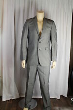 Burton Mens Grey Two Piece Single Breasted Suit