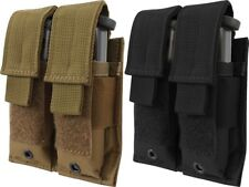 Double Pistol Magazine Holder Military MOLLE Pouch