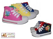 Girls / Boys trainers - canvas shoes in 6 colours! Size UK 3.5 - 9 NEW