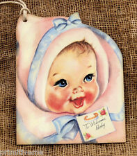 Hang Tags  VINTAGE INSPIRED NEW BABY TAGS #89  Gift Tags