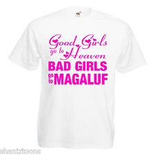 Bad Girls Magaluf Hen Party Adults Mens T Shirt 12 Colours Size S - 3XL
