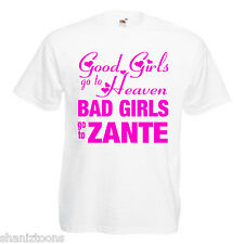 Bad Girls Zante Hen Party Adults Mens T Shirt 12 Colours Size S - 3XL