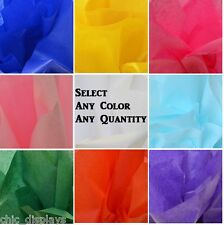 """LOT of TISSUE PAPERS WHOLESALE WEDDING GIFT TISSUE PAPERS 20"""" x 30"""" GIFT WRAP"""
