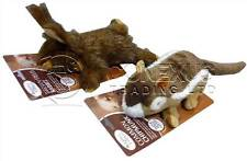 BUY 3 GET 1 FREE COUNTRY CRITTERS MULTI SQUEAKER QUALITY DOG TOYS DUCK RABBIT