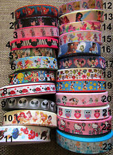 1M AU CHOIX  ruban gros grain disney / cartoon  scrapbooking carterie couture 2