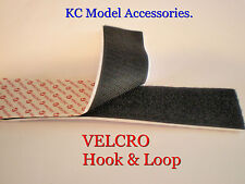 Premium Velcro Self Adhesive Sticky Back Hook & Loop  Tape 1m Hook & 1m Loop