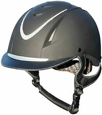 New Harry's Horse Safety Adjustable Ventilated Sparkle Horse Riding Helmet/Hat