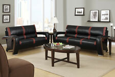Sofa & Love Seat 2 piece Modern Living room Set 4 Color Option Sofa Couch #F7254