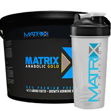 ANABOLIC GOLD MUSCLE GAIN - ALL FLAVOURS 5KG - FROM MATRIX NUTRITION