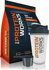 WHEY PROTEIN CONCENTRATE 1KG. FREE SHAKER + SCOOP in 13 Flavours