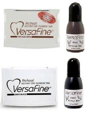 Tsukineko Versafine Ink Pad + Reinker Acid-free Permanent Waterproof