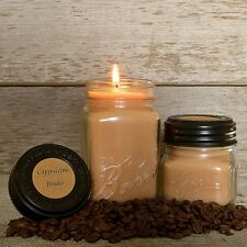 Cappuccino, Chai, Espresso, Cocoa, Coffee, or Vanilla Soy Wax Candles 16 oz.