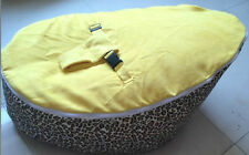 Lovely Nice baby kid toddler bean bag & Seat Cover parents care Leopard colour