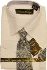 Boys American Exchange White Dress Shirt & Paisley Tie Party Prom (12-13 years)
