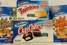 Hostess Snack Cakes Iced or Cream Filled Cake ~ Pick One