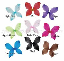"""6 Pair 16""""x19"""" Fairy Wings Butterfly dress up Tinkle Bell Costume USA"""