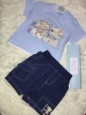 BRAND NEW Boys Two Piece Monkey Set