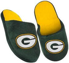 Green Bay Packers Embroidered NFL Licensed Youth Slide Slippers Sizes S M L XL