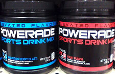 Powerade Sports Powder Drink Mix  .. Your choice ..19oz can
