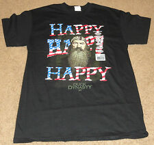 DUCK DYNASTY PHIL HAPPY T-SHIRT SIZE MENS LARGE
