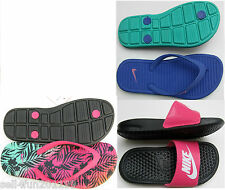 New Nike Solarsoft Thong 2,Benassi JDI Slides Youth Girl Shoes Size 11-3 Pick 1