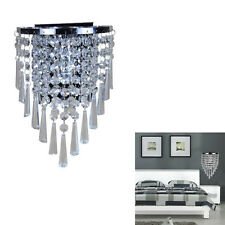 Gorgeous Modern Home Decoration Crystal Wall Chandelier Lighting Sparkling Light