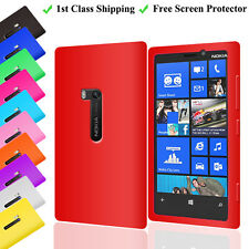 Silicone Gel Soft Case Cover for Nokia Lumia 920 + Screen Protector