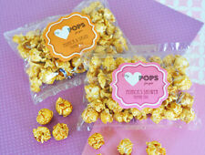 25 My Heart POPS for You Caramel Popcorn Wedding Shower Party Favor