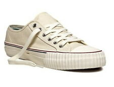 PF Flyers Center Lo Reissue MC1002NT Natural White Canvas Sz4-13 Fast Ship