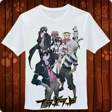 Japanese Anime《 blood lad 》 Large format White T-shirt S/M/L/XL/ XXL