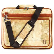 15 inch Laptop notebook bag Pattern World Map Dell inspiron1520,1545,6400,N5010