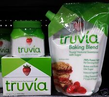 Truvia Nature's Calorie Free Sweetener Natural Stevia or Baking Blend ~ Pick One
