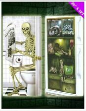 Halloween Horror Door Poster Decoration Skeleton or Grouesome Fridge  Free P/P