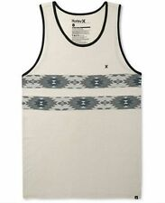 ~~~NEW~~~MENS HURLEY RAVEN TANK SLEEVELESS SHIRT BONE