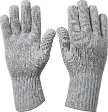 Grey Military D-3A Wool Glove Liners USA Made