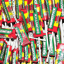 SWIZZEL MATLOW DRUMSTICK LOLLIES RETRO SWEETS Pack of 10 - 120 FREE POSTAGE