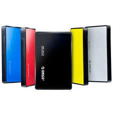 "ORICO Fashion Tool Free USB3.0 2.5"" SATA HDD Hard Drive External Enclosure Case"
