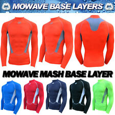 Mowave compression mash baselayer all sports athletic inner wear shirts S~XXLTOP