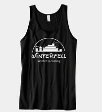 WINTERFELL Winter Is Coming Game Of Thrones Unisex Tank Top