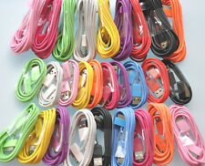 3FT 6FT 10FT COLOR USB DataCharging Cable FOR Apple iphone 4 5 galaxy s3 s4