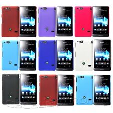 New Multi Color Rubberized Hard case Cover for Sony Xperia Go ST27i
