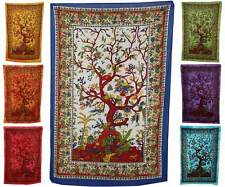 ॐ TREE OF LIFE ॐ WALL HANGING 210X140CM INDIA ART throw tapestry bed sofa UK ॐ