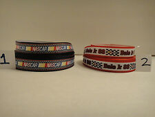 "Nascar & Dale Earnhardt Grosgrain Ribbons ~ 7/8"" Wide ~ Sold By The Yard ~ NEW!"