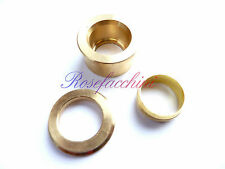 Brass Compression Pipe Reduction Joint Olive Pipe Fitting Reducing Rings Reduce