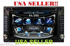 NEW 6.2 Inch DVD Touch screen Double 2 DIN Car CD Mp3 3D IPOD Player W/ GPS NAVI