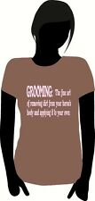 CUSTOM HORSE T- SHIRT - DEFINITION OF GROOMING